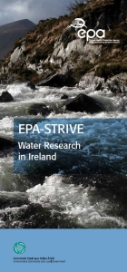 Water Research in Ireland Brochure thumbnail